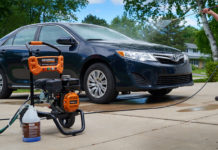 How to Use an Electric Pressure Washer