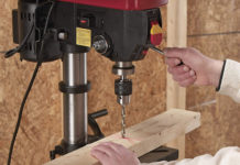 Harbor Freight Drill Press